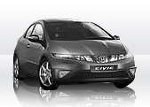 HONDA CIVIC Kit Rivestimento Cruscotto accessori e ricambi tuning personalizzare kit radica per auto